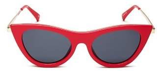 Le Specs Women's Enchantress Cat Eye Sunglasses, 50mm - 100% Exclusive