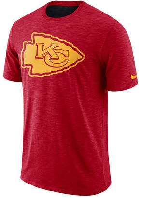 Nike Men's Kansas City Chiefs Dri-Fit Cotton Slub On-Field T-Shirt