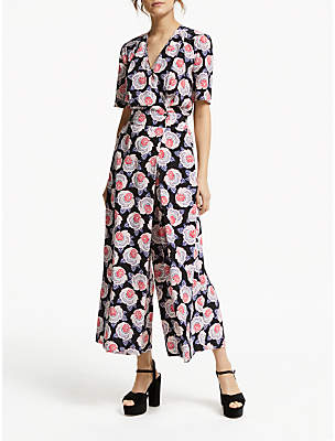 6f44aa427c09 Somerset by Alice Temperley Lace Floral Print Jumpsuit
