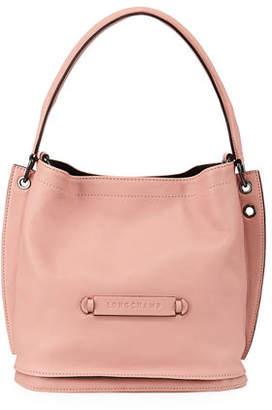 810fb15febdd Longchamp 3D Leather Crossbody Hobo Bag