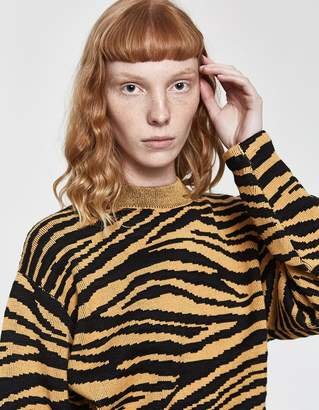 Proenza Schouler Long Sleeve Pullover Sweater