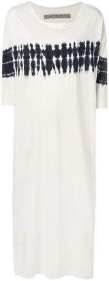 Raquel Allegra tie-dye loose fit dress