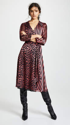 Alice + Olivia Abigail Wrap Dress