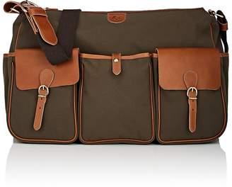 Il Bisonte Men's Leather-Trimmed Messenger Bag