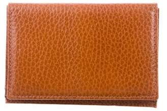 Mark Cross Leather Bifold Card Holder