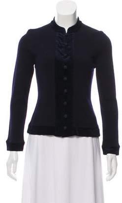 Adrienne Vittadini Wool Long Sleeve Cardigan