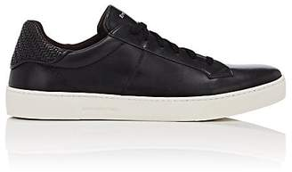 Ermenegildo Zegna Men's Vulcanizzato Leather Sneakers
