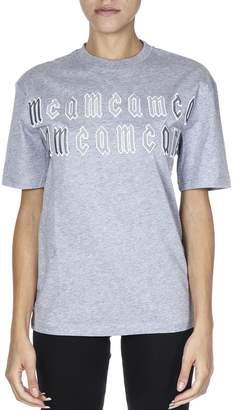 McQ Grey Cotton T-shirt
