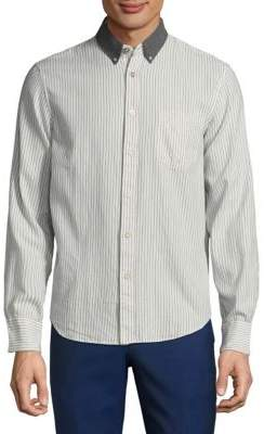 Rag & Bone Stripe Button-Down Shirt
