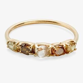 Xiao Wang Stardust Five Light Diamond Ring Diamonds, Gold