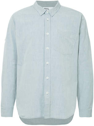 Margaret Howell long-sleeve fitted shirt