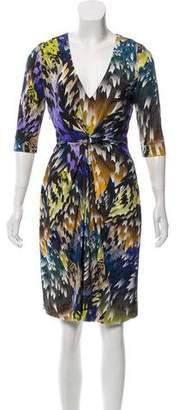 Matthew Williamson Gathered Silk Dress
