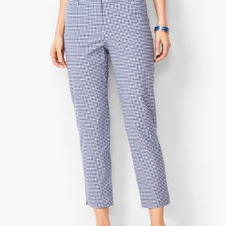 Talbots Perfect Crops - Gingham