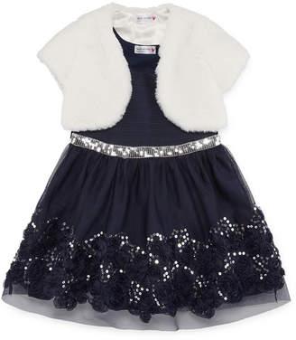 Knitworks Knit Works 2-pc. Jacket Dress Toddler Girls