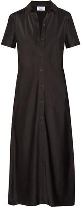 DKNY - Satin Shirt Dress - US4 $300 thestylecure.com