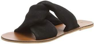 Warehouse Women's Knot Open Toe Sandals,3 36 EU