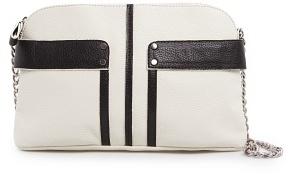 MANGO TOUCH - Two-tone shoulder bag