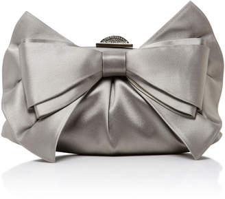 Judith Leiber Couture Madison Satin Bow Clutch