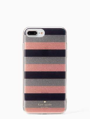 Kate Spade Glitter Stripe Iphone 7 & 8 Plus Case