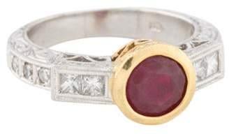 Ring Ruby & Diamond