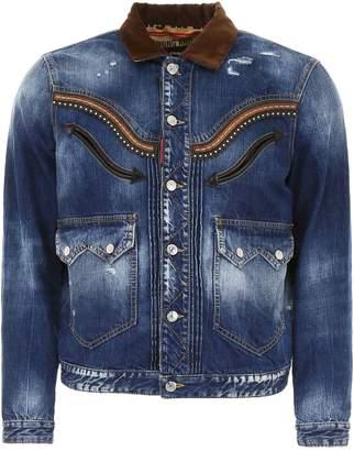 DSQUARED2 Cowboy Denim Jacket