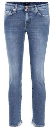 7 For All Mankind Pyper Crop mid-rise skinny jeans