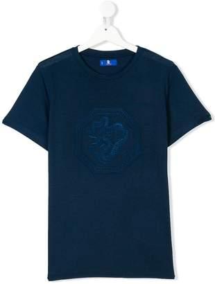Stefano Ricci Kids TEEN dragon embroidered T-shirt