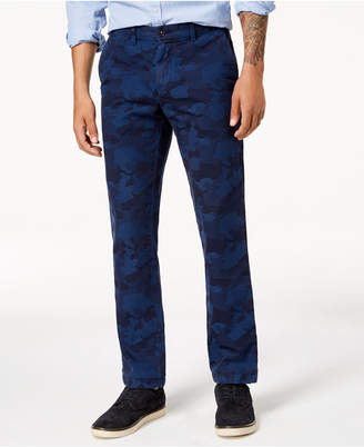 Tommy Hilfiger Men's Ritter Camo-Print Chinos