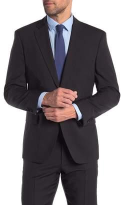 BOSS Pacini Notch Collar Stretch Fit Coat