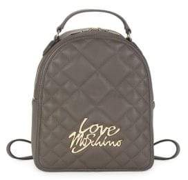Love Moschino Quilted Love Backpack