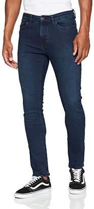 New Look Men's Morrow Open Knee 5481916 Skinny Jeans,W28/L32 (Manufacturer Size:28R)
