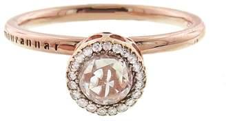 Selim Mouzannar Floral Diamond Ring - Rose Gold