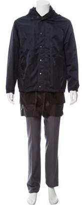 3.1 Phillip Lim Multi-Layered Zip-Up Jacket