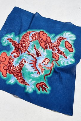 Urban Outfitters Dragon Bandana $8 thestylecure.com