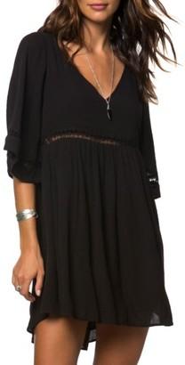 Women's O'Neill Jessika Lace Trim Gauze Dress $49.50 thestylecure.com