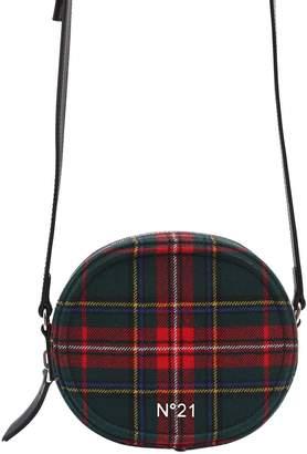 N°21 Round Plaid Shoulder Bag