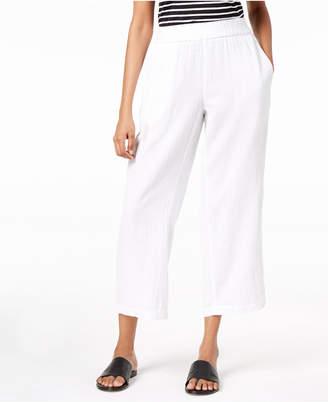 Eileen Fisher Organic Cotton Straight-Leg Pants, Regular & Petite