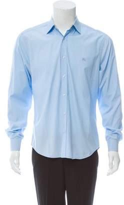 Burberry Woven Nova Check-Lined Shirt