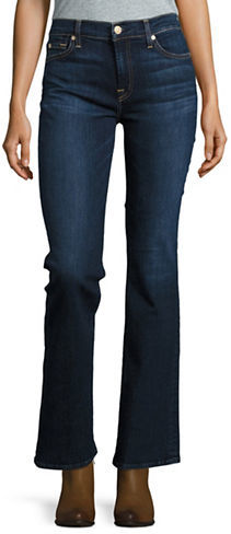 7 For All Mankind7 For All Mankind Dark Wash Bootcut Jeans