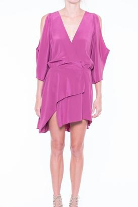 MASON BY MICHELLE MASON Open Mini Silk Dress $656 thestylecure.com