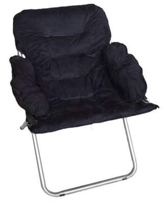 DormCo Club Chair - Plush & Extra Tall - Black
