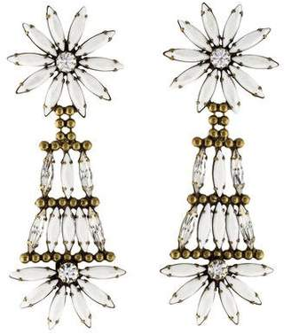 Dannijo Crystal Lovisa Earrings