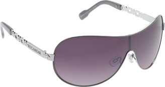 Women's RocaWear R574 Embellished Shield Sunglasses $54.95 thestylecure.com
