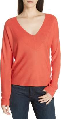 Eileen Fisher Boxy Tencel(R) Lyocell & Silk Sweater