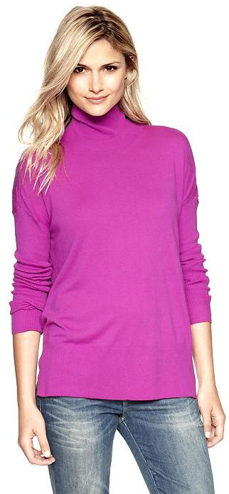 Gap Pure boxy turtleneck