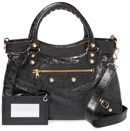 Balenciaga  Giant 12 Town Medium Leather Satchel
