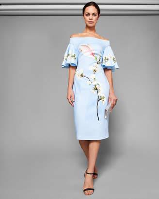 7fa0ae04d Ted Baker LAURAEN Harmony bodycon bardot dress