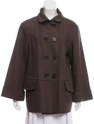 Bottega Veneta Wool & Angora Short Coat
