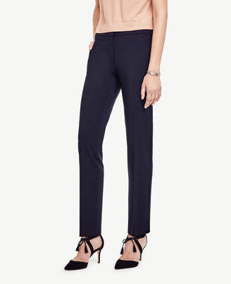 Ann Taylor The Petite Ankle Pant in Seasonless Stretch - Curvy Fit