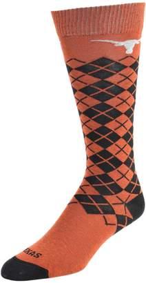Women's Mojo Texas Longhorns Argyle Socks